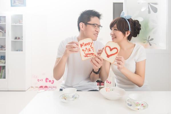 台北自助婚紗情侶寫真攝影工作室居家風新人自宅