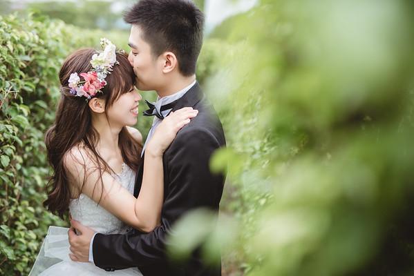 台北自助婚紗情侶寫真攝影工作室新生公園韓系婚紗